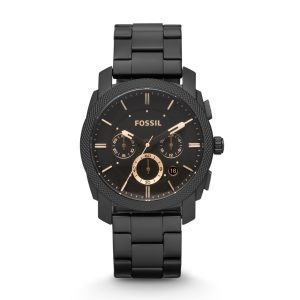 Black Fossil Mens Watch