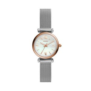 Ladies Two Tone Fossil Watch