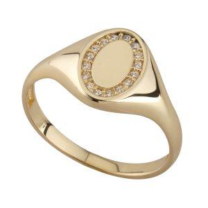 9ct Gold Ladies Ring