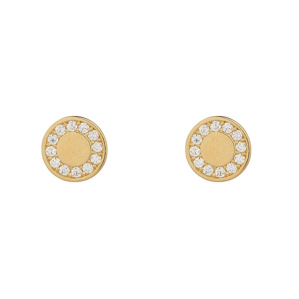 9ct Yellow Gold Stud Earring
